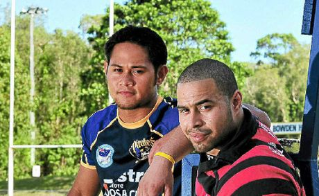 American recruits Josh Aquinde and Peter Roses are hoping to make an impression with the Noosa Pirates this season.