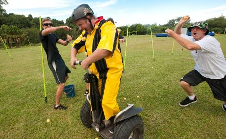 See the Coffs Coast from the sky and then from a segway.