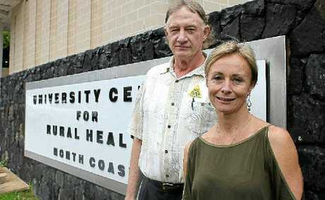 CONCERNED: Dr Wayne Somerville and Dr Rowena Knoesen.