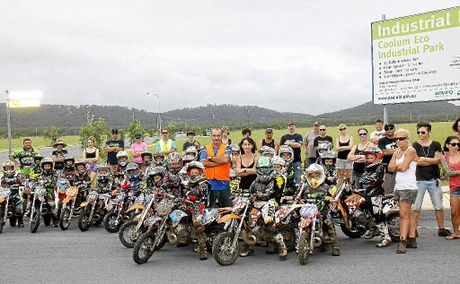 Members of the Coolum Motocross Club want the lease on their track extended.