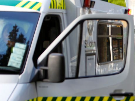 Two men escaped serious injury after being accidentally sprayed with acid.