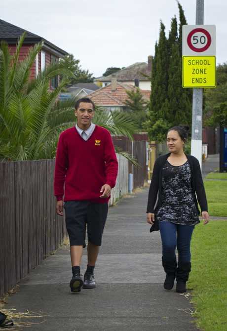 Saale Ilaua, 16, and Lineti Latu, 20 got residents to sign a petition against brothels in their area.