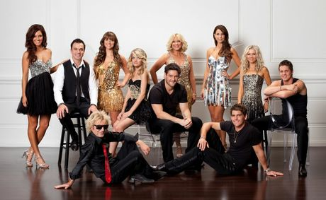 2012 cast of Dancing With the Stars.