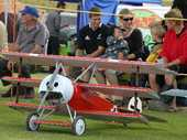 Hawke's Bay skywatchers turned out in large numbers for the model Warbirds over Awatoto action during the weekend and Bay pilots did their bit by picking up four of the six flying awards.