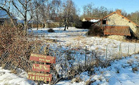 The French village of Courbefy is on the market for $400,000.