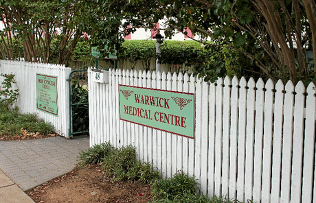 The Warwick Medical Centre is rumoured to close in the next few months.
