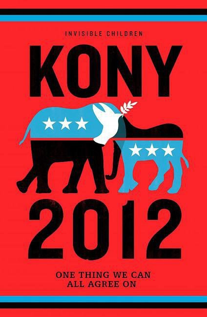 Kony 2012 campaign poster