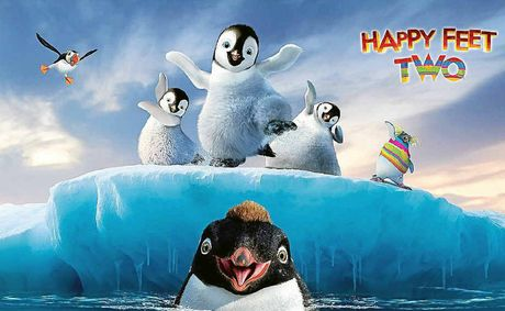 Happy Feet Two is one of a host of Aussie films featured in next week's Big Screen Film Festival at Yamba.