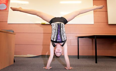 Ashleigh Pearce, 16, has been given a unique opportunity to pursue a career as a circus artist.