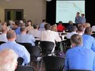 An Arrow Energy community information session held in Dalby.
