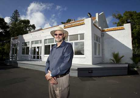 Kit Howden is anxious the kiosk on Mount Eden has to be earthquake proofed, thwarting plans for a visitor centre and cafe.