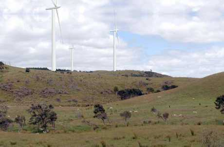 BIG SCHEME: The planned windfarm has been described as the largest proposed development in Wairarapa, other than farming.
