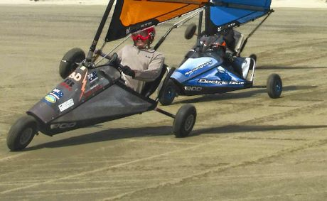Mackay's Barak Dekel will compete at the World Blokart Championships in California.