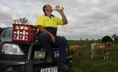 Graham MacInyre&#39;s pioneering company Lynward Queensland Milk has already become a house-hold name, with production skyrocketing from 1000 litres to 10,000 a week.