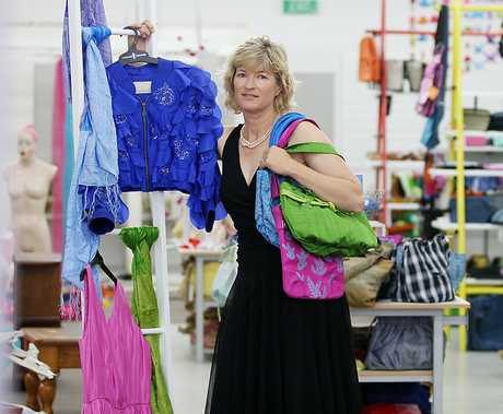 Denise Arnold is settling into a new space at Bethlehem Town Centre after parts of the Cargo Shed were condemned. Photo / Mark Mckeown