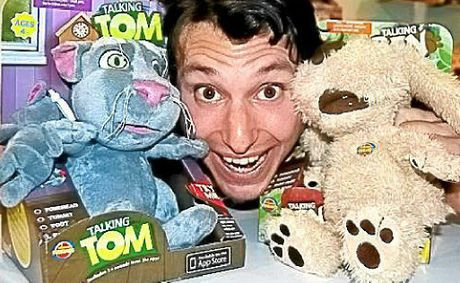 Moose Enterprise&#39;s Talking Tom and Ben plush toys were named as the winner in the Girls&#39; Licensed Toy of the Year category.