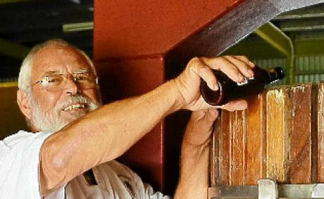 Eumundi Winery owner Dr Gerry Humphrey says the beer will be made to German purity laws from malt from Darling Downs barley, not sugar cane as many breweries do.