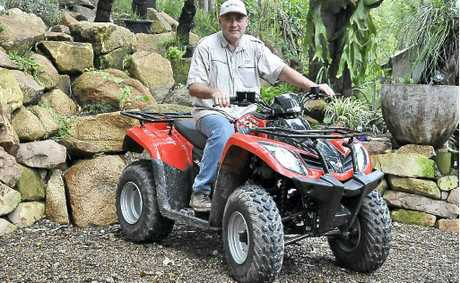 Charles Marais proposes to run quad bike tours in Woondum National Park.