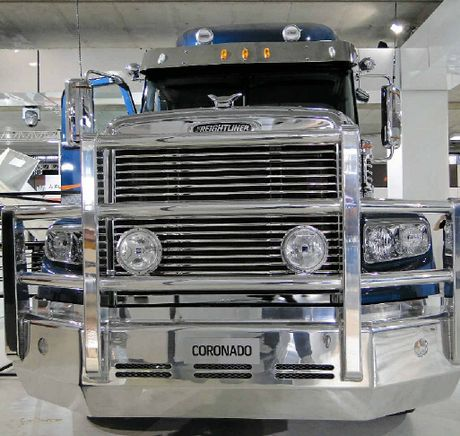 SHINING EXAMPLE: The Freightliner Coronado.
