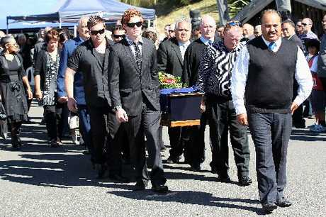 Tank Gordon was farewelled last month.