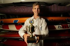 Matt Barclay won his division at Coolangatta Gold.  Photo: Cade Mooney / Sunshine Coast Daily