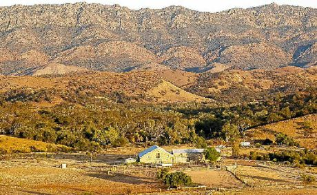 BRUSH WITH FAME: The picturesque Arkaba Station in South Australia.