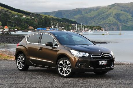 Citroen&#39;s DS4 is an extension of the C4 series.
