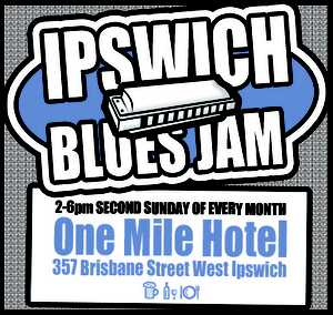 This is the FOURTH year at the Ipswich Blues Jam! We&#39;re now at the One Mile Hotel, &amp; look forward to a great Sunday session with you!