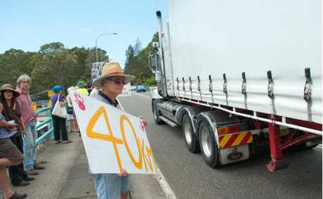 The Pacific Highway speed limit through Urunga will be lowered to 50km/h as of Tuesday.
