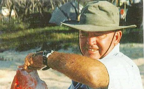 Cliff Jones was a great fisherman and loved that pastime.