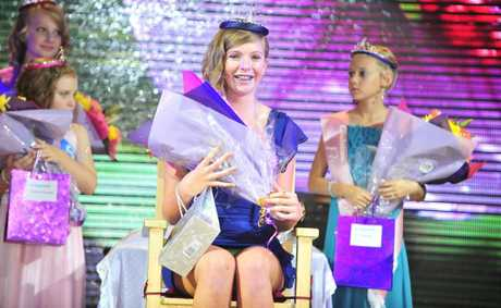 Crowning of the 2012 Festival Jubilee Queen and Junior Queen Quest Contestants at this years Harbour Festival. Winner of the Teen Queen Quest, Alexandra Newton. Photo Christopher Chan/The Observer.