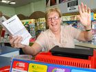 BIG WIN: Gold Arrow owner Sharon Rechenberg is excited her newsagency sold a $1.1 million winning ticket.