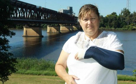 Colleen Wormald is devastated after missing out on the National Dragonboat Championships. Colleen was injured during a training session after an object was thrown from the Grafton Bridge, hitting her.