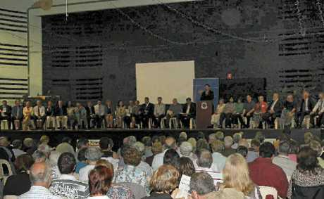 Hundreds of people turned out to the Meet the Candidates forum at Kings Theatre to hear candidates being grilled last week.