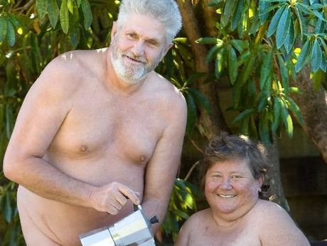 Andrew and Sharlene Valk opened their home to people interested in the naturist lifestyle.