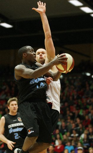New Zealand Breakers import Cedric Jackson has been named the National Basketball League's player of the week