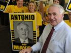 Mayoral candidate Paul Antonio launches his election campaign.