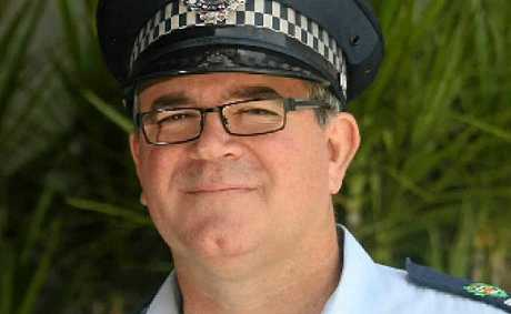 Central region traffic co-ordinator Acting Inspector Steve Hall.