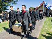 Te Arawa and numerous politicians and ex-politicians have farewelled Sir Peter Tapsell at Whakaue Kaipapa Marae, Maketu.