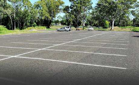 Joan Clark wants hospital staff encouraged to use the new car park.