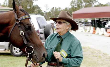 Billie Maundrell just loves horses, the sport and judging. Photo Peter Evans / Caboolture News