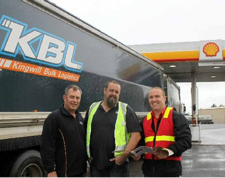 HAPPY CUSTOMERS: Fuel savings are a big hit with trucking operators.