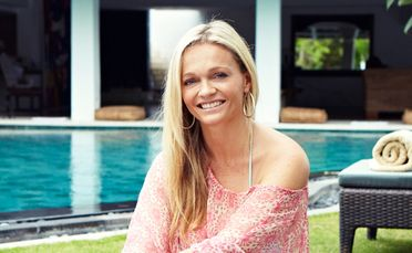 New Zealander Janine Hall traded high heels for bare feet and kaftans when she started her Surf Haven Bali retreat.