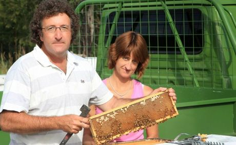 Coffs Coast Honey's Alan and Merridy Wray are looking to combat threats to the beekeeping industry after being selected as runner's up in the bcu Bill Ussher Agricultural Grant.