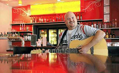 Mark Deviney will hit the stage at the Club Hotel on Sunday.