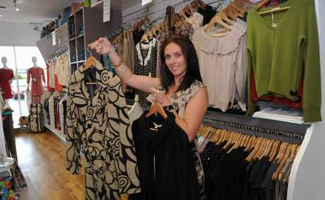 Tanya Larconde at Frangipani Clothing.