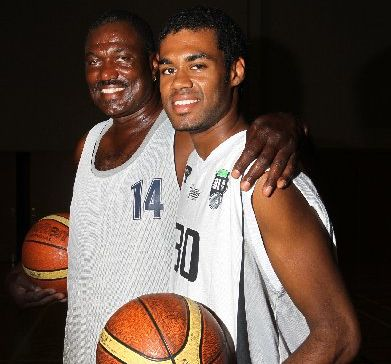 Willie Burton and son Alonzo. 