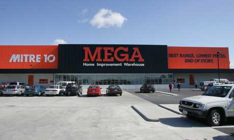 Mitre 10 Mega at Gate Pa.