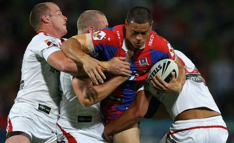 Timana Tahu meets the Dragons defence