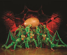 Crickets from OVO by Cirque du Soleil